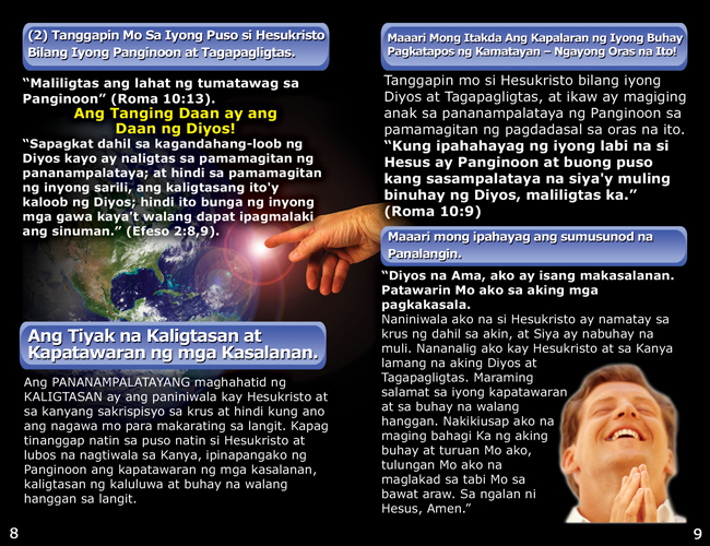 Tagalog Gospel Tracts - GO! Evangelism Ministry, Inc